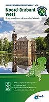 Zeeland / West-Brabant (Roosendaal / Breda / Dordrecht) 1:100 000: Fietsknoopenuntenkaarten Nederlande/ Belgie