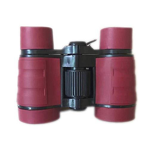 Binocular 4X30 HD Mini binoculares para niños Óptica para Deportes al Aire Libre Tamaño Bolsillo Telescopio Regalo cumpleaños para niños Regalo para niños Juguete
