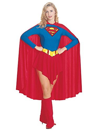 Generique SuperGirl - Disfraz de SuperGirl para mujer, talla pequea