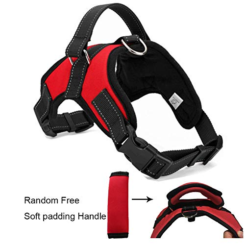 WIGGLE TAIL No Pull Dog Harness with handle,...