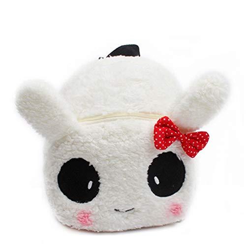 LUSTAR Cute Animal Toddler Backpack Kid Plush Rabbit School Bags Children Backpacks For Boys Girls