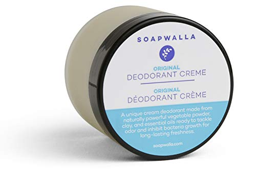 Soapwalla - Organic Deodorant Cream | Natural, Non-Toxic, Food Grade Ingredients (2 oz)