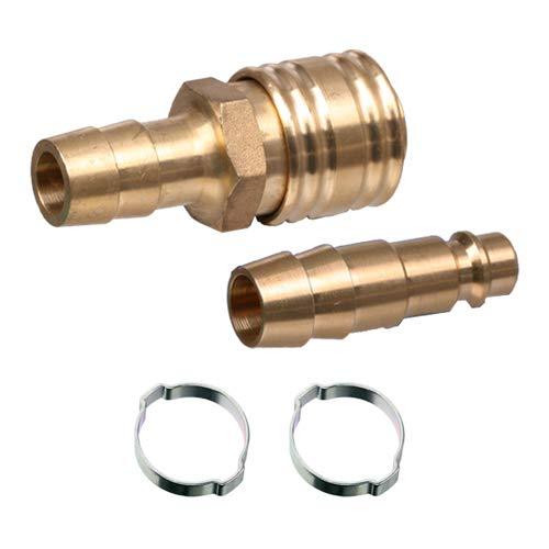 Set Druckluft Kupplung/Stecker LW 13 mm Schlauchtülle