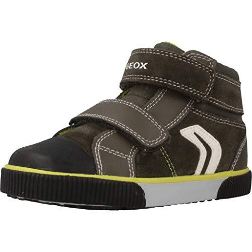 Geox Baby Jungen B Kilwi Boy C Sneaker, Grün (Forest/Lime C3256), 22 EU