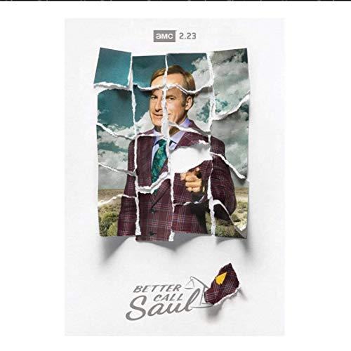 Better Call Saul Season 5 Posters e impresiones Arte de la pared Pintura en lienzo Decoración de la pared para la sala de estar Decoración del hogar Regalo -20x28 pulgadas Sin marco (50x70cm)