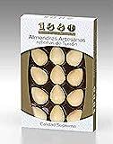 1880 - Almendras Artesanas Rellenas de Turrón de Crema a la Piedra Cubierta com Una Fina Capa de Oblea, Textura Crujiente, Bocados de Calidad Suprema, 165 g, 15 Unidades