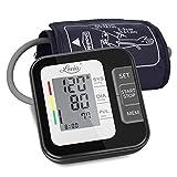 Digitales Automatisches Blutdruckmessgerät für Oberarm - Blutdruck messgeräte für Blutdruck und Herzfrequenz, Großes LCD-Display, 2x120 Speicherkapazität, mit 22-40cm Blutdruckmanschette.