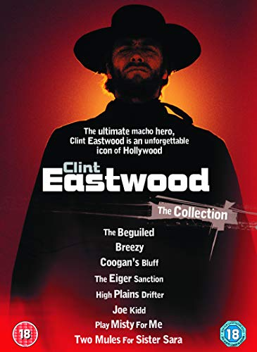 Clint Eastwood - Play Misty For Me / High Plains Drifter / The Beguiled / Breezy / Joe Kidd / Two Mu