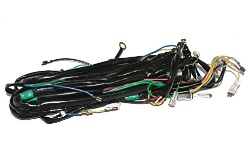 Enfield County 12v Complete Wiring Loom Harness Vespa LML PX P Star T5 Scooter