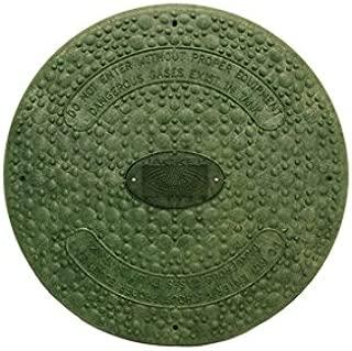 Jackel Septic Tank Riser Cover (18 Inch Diameter - GREEN)