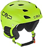 CMP XJ-3 Kids Ski Helmet, Casco da Sci Unisex Bambino, Apple, S