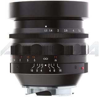 Voigtlander Nokton 50mm f/1.1 Leica M Mount Lens - Black