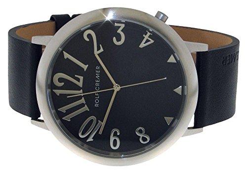 Uhr - Jumbo II - silberfarben-schwarz