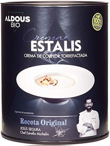 Organic & Ready To Eat   Crema Ecológica de Coliflor Torrefactada   Receta Gourmet de Chef Estrella Michelín   Real Food - Ingredientes Reales   Sin Conservantes - Sin Colorantes - Sin Aditivos