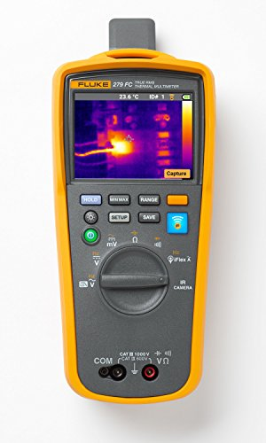 Fluke 279FC Wireless TRMS Thermal Multimeter, Full-Featured...