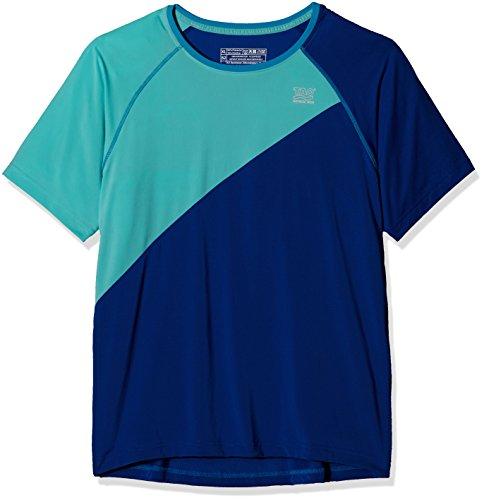 TAO Sportswear Hombre Unidad Manga Corta Camiseta Pulse Running Azul Cobalt/Nirvana Talla:48