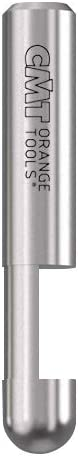 new arrival CMT 842.095.11 Solid Carbide Trimmer Bit sale with 1/4-Inch Diameter with 1/4-Inch sale Shank online sale