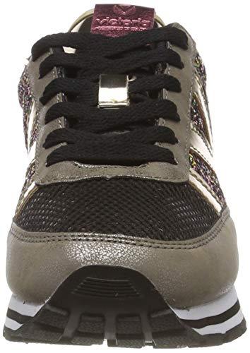 Victoria Deportivo Ciclista Glitter, Zapatillas Mujer, Dorado (Oro 51), 41 EU