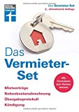 Das Vermieter-Set: Für private Vermieter - Rechtsverbindliche Formulare von Anfang bis zur Beendigung des Mietverhältnisses: Mietverträge, ... Kündigung / Mit Formularen zum Heraustrennen
