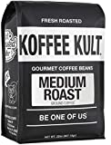 Medium Roast Coffee Ground 100% Gourmet Arabica from Colombia and Brazil (32oz)