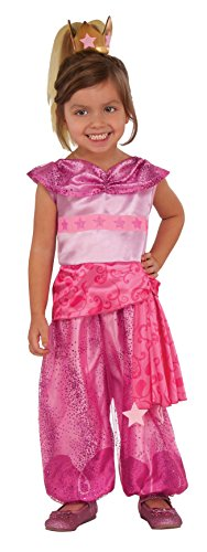 Rubies 510301S Shimmer and Shine Leah Genie - Disfraz infantil para niña, talla...