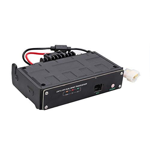 Retevis RT99 Bluetooth Mobile Transceiver Dual Band FM Radio Unterstützt 2G / 3G / 4G / WiFi-Signal Große Reichweite Amateurfunk (Schwarz)
