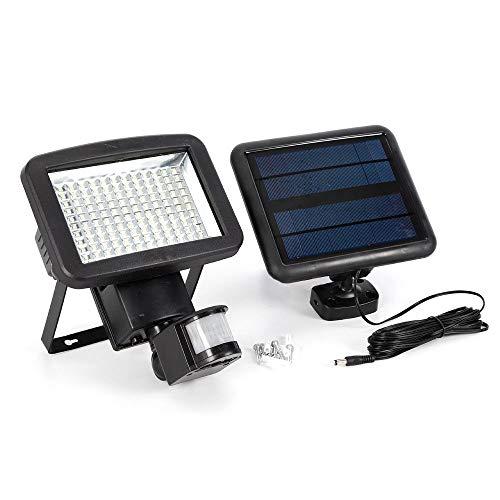 AuBen Led-zonnelamp, zonnelamp, bewegingsmelder, bewegingssensorlicht, wandlamp, energiebesparend, waterdicht, sensorlicht voor tuin, plafond, binnenplaats, hal, veranda lamp