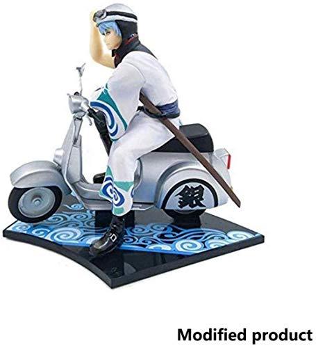 lkw-love Gintama Sakata Gintoki Figma Figur Motorrad Spielzeug hoch 15cm