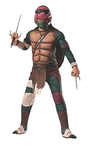 Raphael Deluxe (Teenage Mutant Ninja Turtles Movie) - Kids Costume 8 - 10 years
