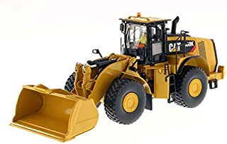 CAT Caterpillar 980K Wheel Loader Material Handling Configuration with Operator Core Classics Series 1/50 Diecast Model by Diecast Masters 85289 C