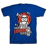 LEGO スターウォーズ ストームトルーパー あなたの帝国が必要 You Trooping Tシャツ US サイズ: 7 カラー: ブルー