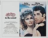 Grease - John Travolta – Movie Wall Poster Print – A4