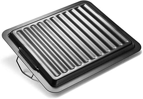 411x fUkpOL - Bratpfanne Non-Stick Antihaft Gusseisen Griddle Pan Barbecue Plate Rechteckige Backformen Grillende Fach Grill Bratpfanne im Freien Grill Zubehör