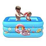 Piscina inflable, piscinas inflables de jardín, estanque de juegos de salón familiar engrosado independiente en capas para niños pequeños, niños y adultos