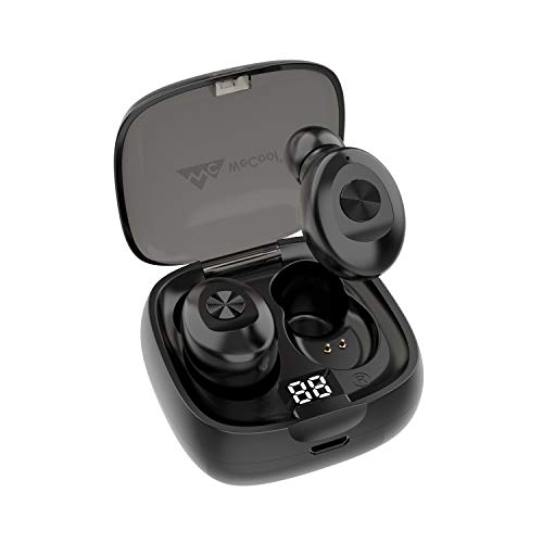 WeCool Moonwalk M1 in Ear Bluetooth Earphones with Mic 12 Hrs Playtime with case Ergonomic Sweatproof Earbuds with Voice Assistant (M1v2)