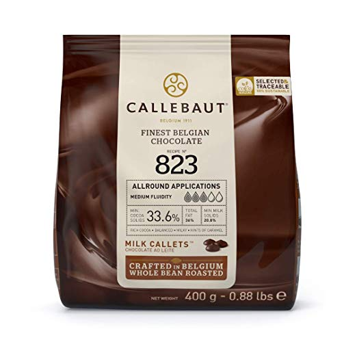 Callebaut N° 823 (33,6%) - Cobertura de Chocolate con Leche Belga -...