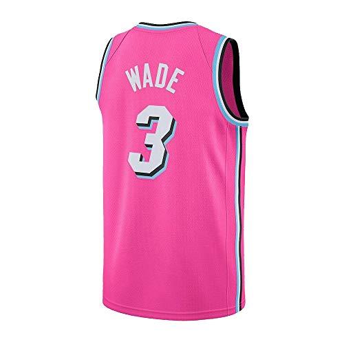 Ddesh Mens 3 Wade Jersey Pink (Pink, X-Large)