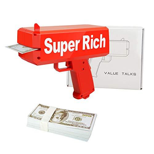 Juguetes dinero ValueTalks Pistola Dinero