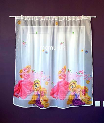 Disney Voile Netz Vorhang Prinzessin Rapunzel - 150 cm Breite x 150 cm Lange