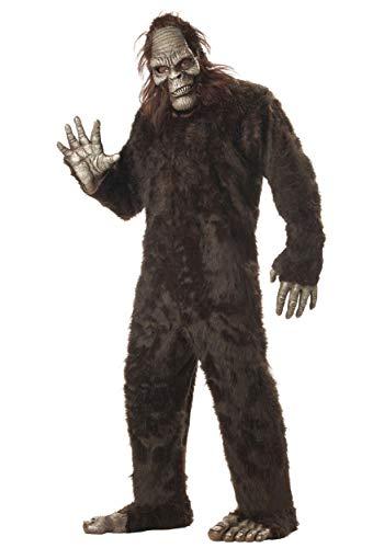 California Costumes Men's Plus-Size Big Foot Suit Costume In Plus, Dark Brown, Plus Size