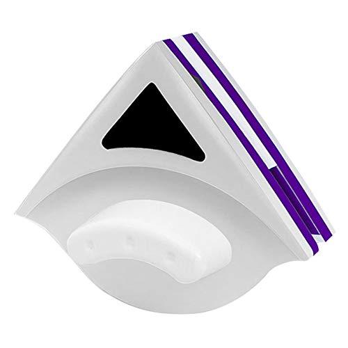 Komake Limpia Cristales Magnetico,Limpiador de Ventanas Magnetico de Doble Cara,Limpiacristales para Cristales de Doble Capa,Cepillo de Limpieza Doble Cara con Cuerda Anticaída,18-30mm