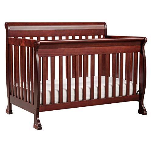 DaVinci Kalani 4-in-1 Convertible Crib in Rich Cherry