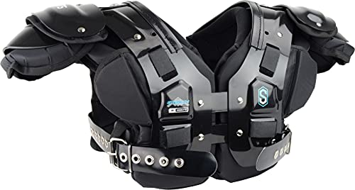 Sports Unlimited Stealth Adult Football Shoulder Pad
