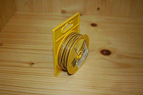 Abrollspule braun/gelb 10 m Doppellitze BRAWA 3199