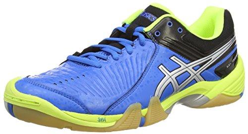 Asics Gel-domain 3, Herren Handballschuhe, Blau (electric Blue/silver/neon Yell 3993), 42.5 EU