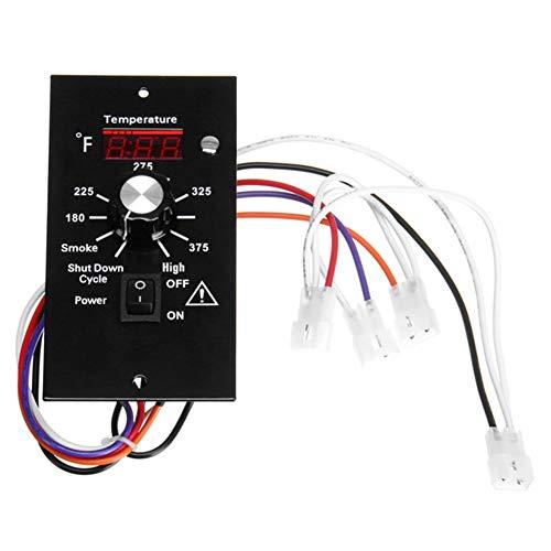 SFeng Digitales Thermostat Kit, Thermostat Digital Temperature Controller, Temperatur Full Control Panel BBQ Pellet Ofen für Holz Pellet Grills