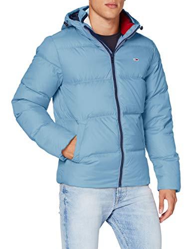 Tommy Hilfiger TJM Essential Down Jacket Chaqueta, Vintage Denim, S para Hombre