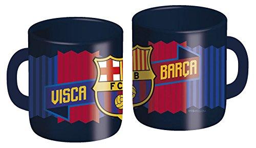 CYP Imports MG-03-BC Taza plástico 260 ml, diseño Futbol Club Barcelona, Azulgrana, 0