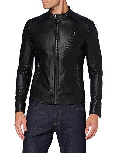 Sisley Jacket Giacca, Nero 100, 58 Uomo