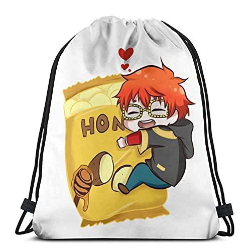 Competitive & Games & Seven And Honey Buddha Chips Drawstg Bag Sports Fitness Bag Travel Bag Gift Bag